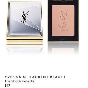 Yves Saint Laurent Makeup - YSL Yves Saint Laurent face palette (NWOT, unused)